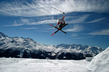 Verbier and Anzère Freeski Contest